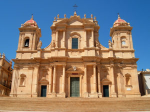 Sicily noto cathedral